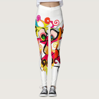Life's Crazy Crazy Girl Couture ™ leggings