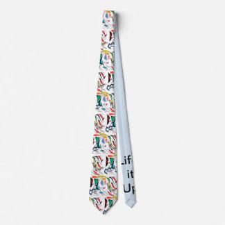 Life's Crazy Electric Warrior Tie