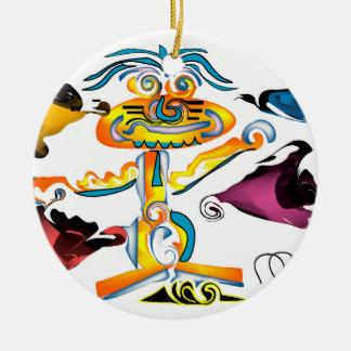 Life's Crazy Life it Up ornament