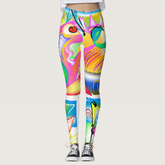 Life's Crazy Sun Goddess Leggings