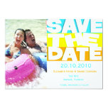 Life's Fun - Save the date card Custom Invitations