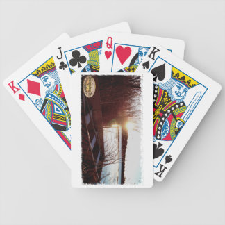 Life's good gear bicycle playing cards