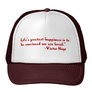 Life's greatest happiness trucker hat