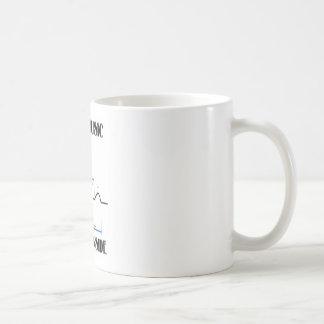 Life's Music Found Inside (ECG/EKG Heartbeat) Coffee Mug