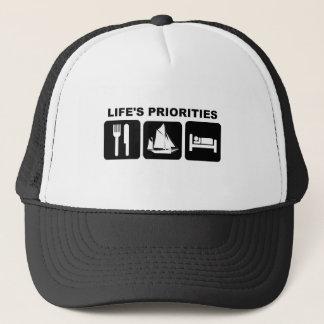 Life's priorities, SAILING Trucker Hat
