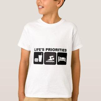 Life's Priorities, Swimming Shirt