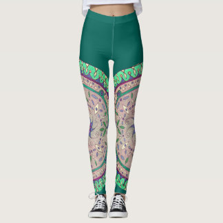 Life's Wheel Mandala Leggings