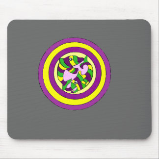 Lifesaver Dolphins into the swirl. Bullseye! Mouse Pad