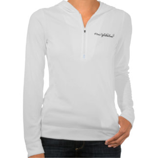 Lifestyles of the Flat & Fabulous half zip hoodie