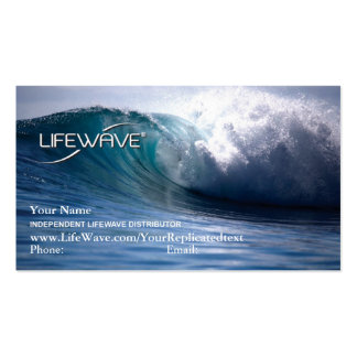 LifeWave Business Card with Matrix2 and Theta
