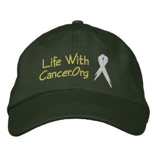 LifeWithCancer.Org Victory Hat Embroidered Hats