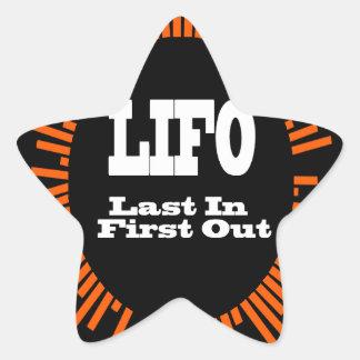 LIFO STAR STICKER