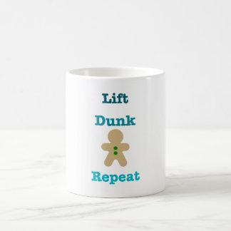 Lift Dunk Repeat Coffee Mug