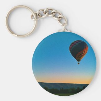 Lift Off Basic Round Button Key Ring