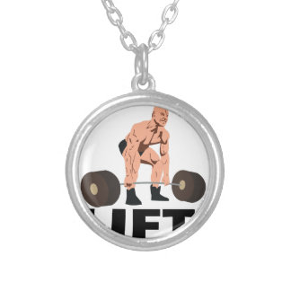 Lift Silver Plated Necklace