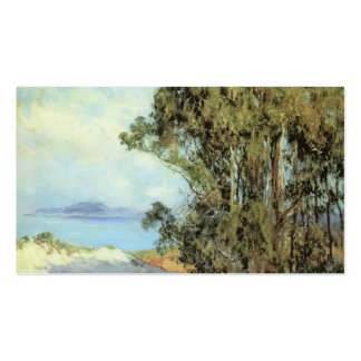 Lifting Fog, Carmel by Guy Rose Business Cards