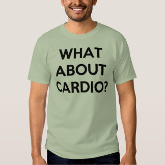 Lifting Heavy for Cardio? Tees