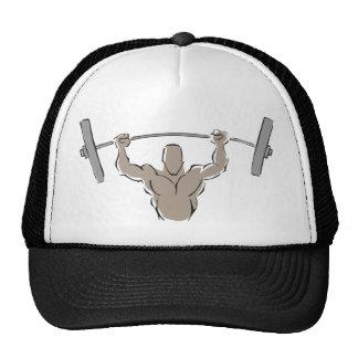 Lifting Weights Cap