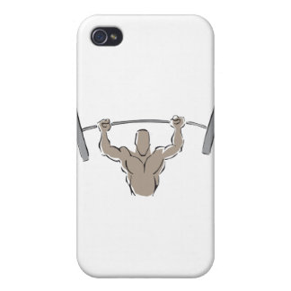 Lifting Weights iPhone 4/4S Case