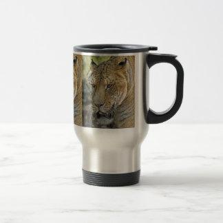Liger (half tiger half lion) Travel Mug