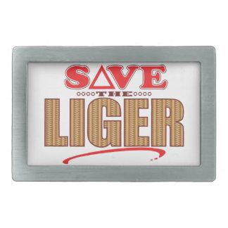 Liger Save Belt Buckle