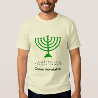 Light a GREEN Candle T-shirts