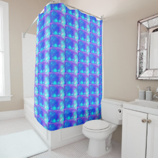light abstract pattern shower curtain
