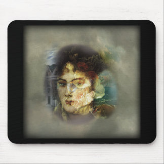 Light and Dark 1 Digital Collage Mousepad