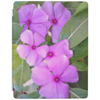 LIGHT AND DARK PINK FLOWERS iPad COVER
