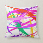 Light and Wind Throw Pillows