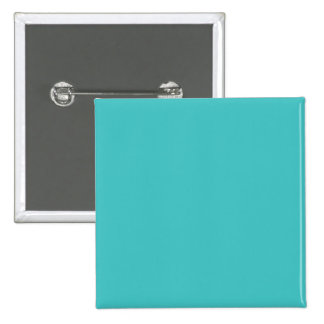 Light Aqua Blue Color Trend Blank Template 15 Cm Square Badge