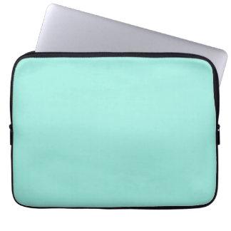 Light Aquafresh Aqua Blue Green Fashion Color Laptop Computer Sleeves