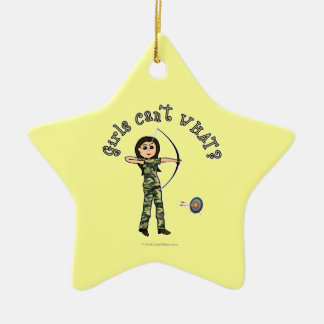 Light Archery in Camouflage Christmas Ornament