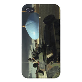 Light armored vehicle commander cover for iPhone 4