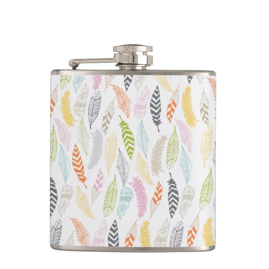 Light as a Feather by Origami Prints Flask