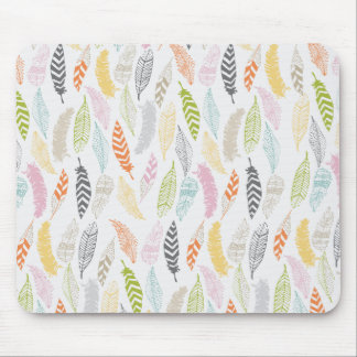 Light as a Feather by Origami Prints Mouse Pad