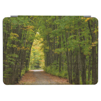 Light At The End Of A Tunnel Of Trees iPad Air Cover