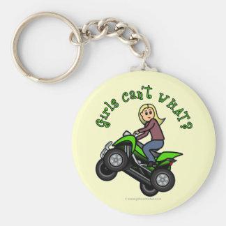Light ATV | Four Wheeling Girl Keychains