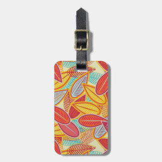 Light Background Luggage Tag