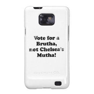 Light Barack Obama Line vote for a brutha Faded.pn Galaxy S2 Covers
