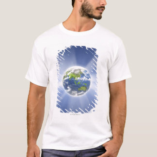 Light Beams from Earth T-Shirt