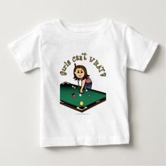 Light Billiards Girl Baby T-Shirt