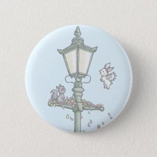 Light, Blossom and Woodland Creatures 6 Cm Round Badge