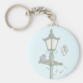 Light, Blossom and Woodland Creatures Key Ring