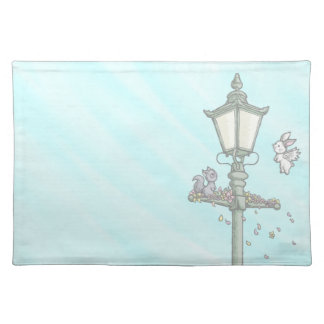 Light, Blossom and Woodland Creatures Placemat