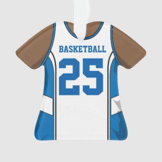 Light Blue and White Basketball