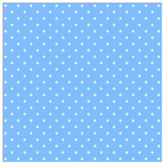 Light Blue and White. Star Pattern. Cut Outs