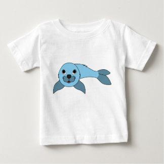 Light Blue Baby Seal Baby T-Shirt