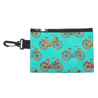 Light Blue Bicycle Clip-on Accessory Bag