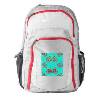 Light Blue Bicycle NIKE Performance Backpack